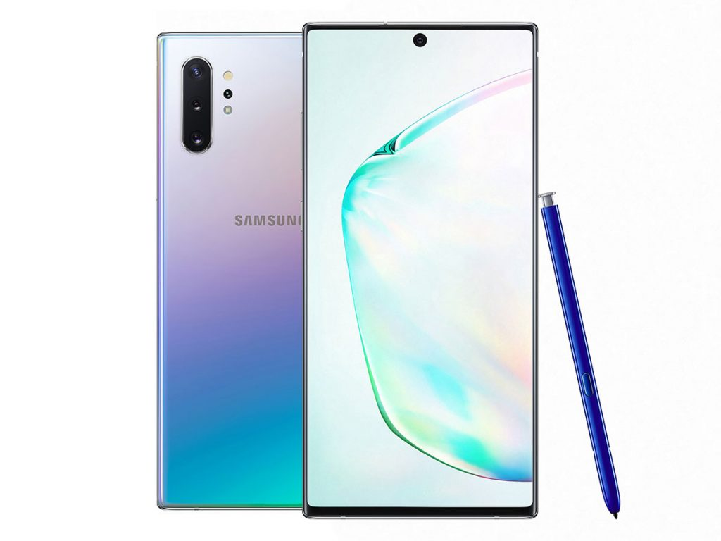 samsung note 10 plus 5g huolto